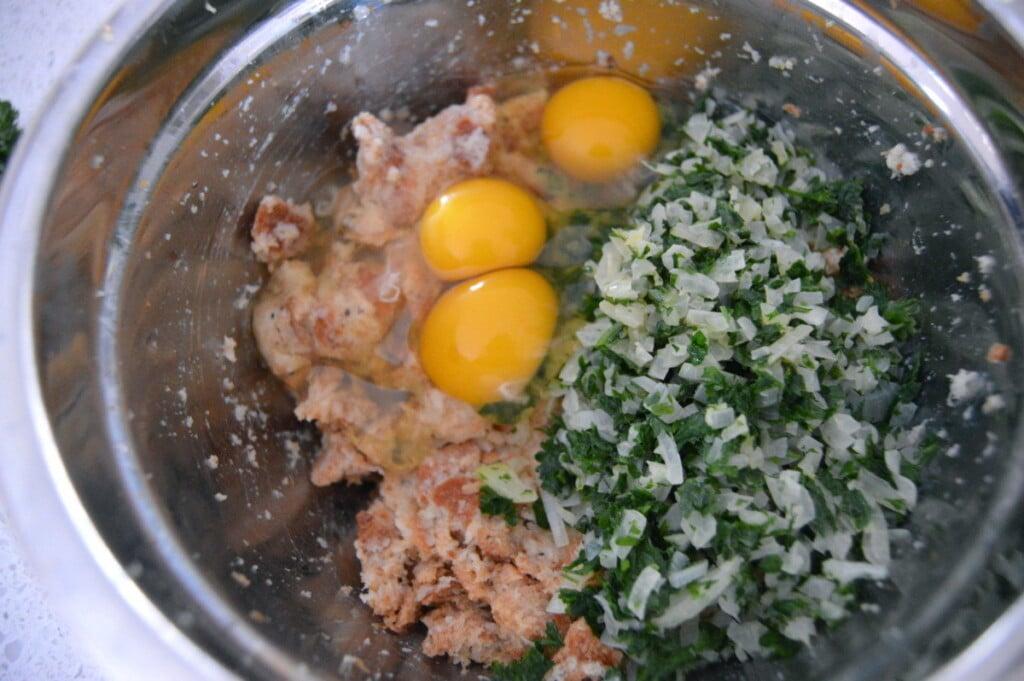 Bread Dumplings Semmelknödel Mushrooms 2