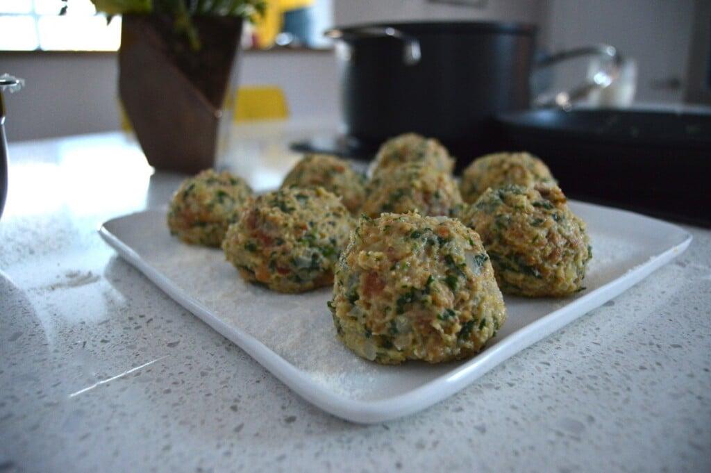 Bread Dumplings Semmelknödel Mushrooms 4
