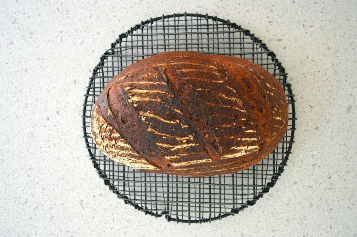Fresh baked bread, knives that work & lava rocks