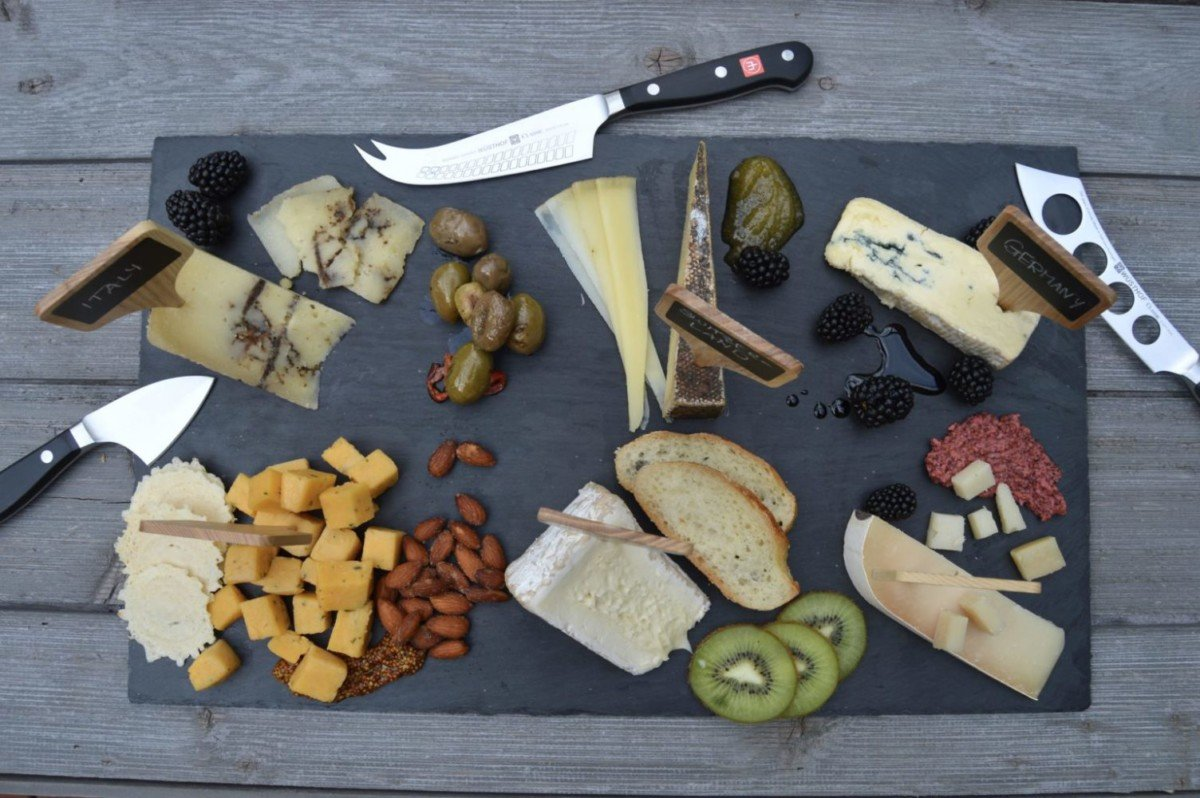 Sophie's Cheese Board & WÜSTHOF Cheese Knife Set Giveaway