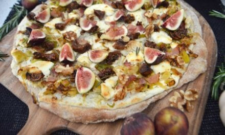 Fall-Inspired Flammkuchen
