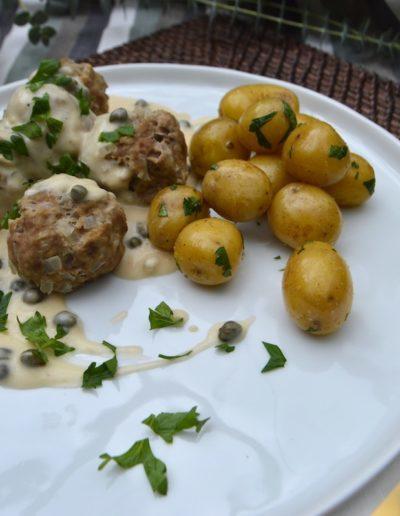 Königsberger Klopse German Meatball Recipe
