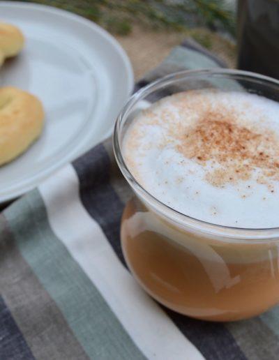 Pumpkin Spice Latte using Mozart Pumpkin Spice Cream Liqueur