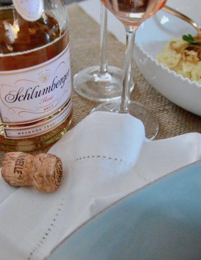 Schlumberger Rosé Thanksgiving Wine Pairing