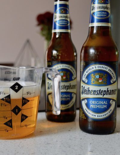 German Bier for Rustic German Cheese Fondue