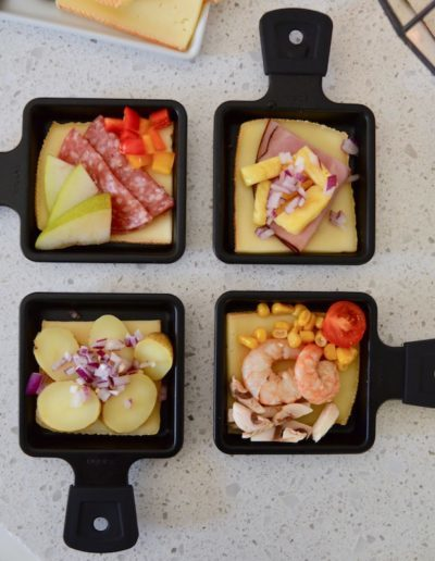 Raclette Topper Combinations