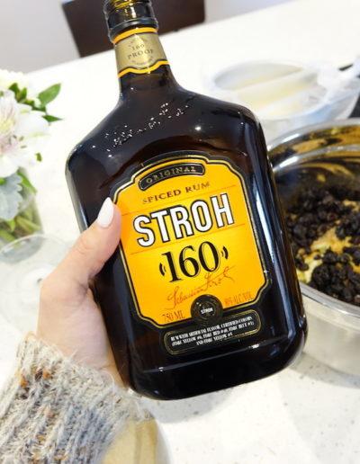 STROH spiced rum for Strudel filling
