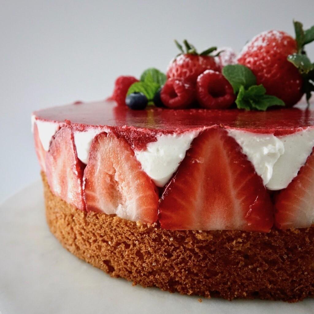 Sophie's Birthday Cake: Berry Yogurt Cake