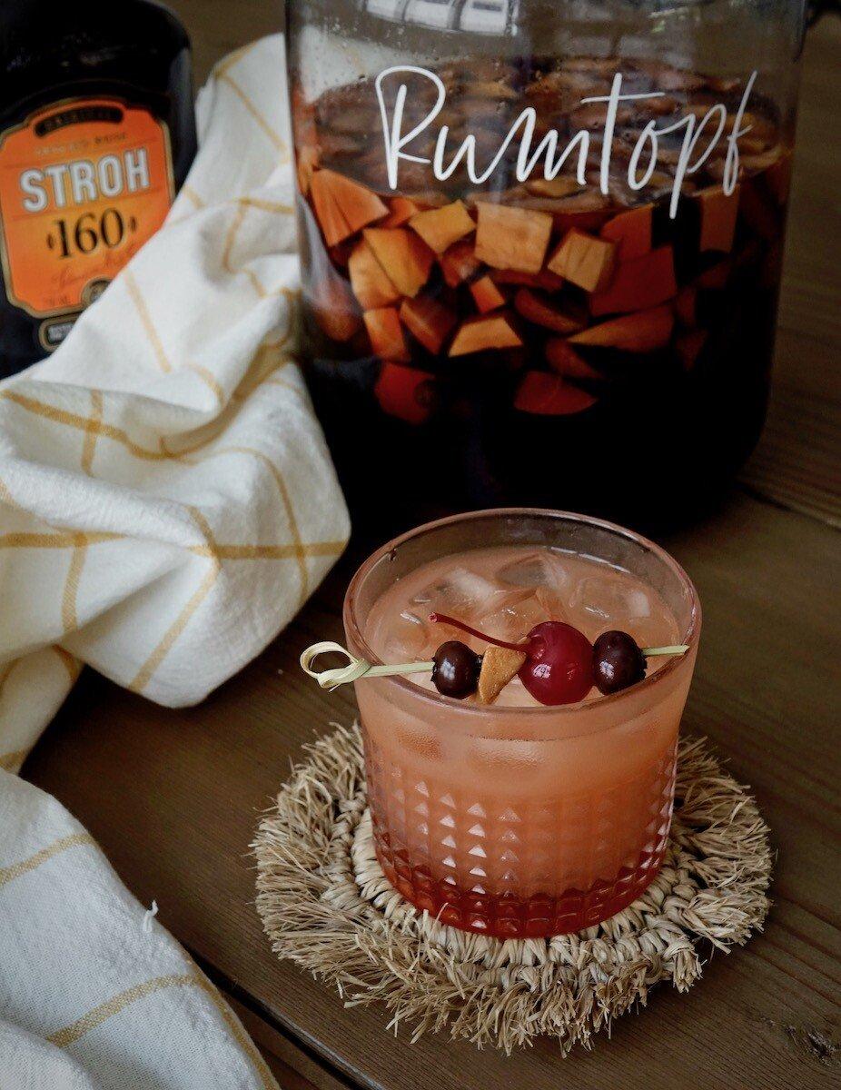Rumtopf rum punch recipe